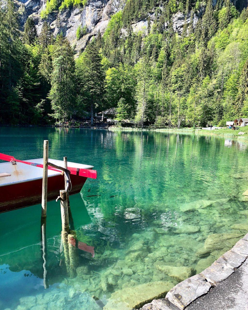 suisse blausee lake