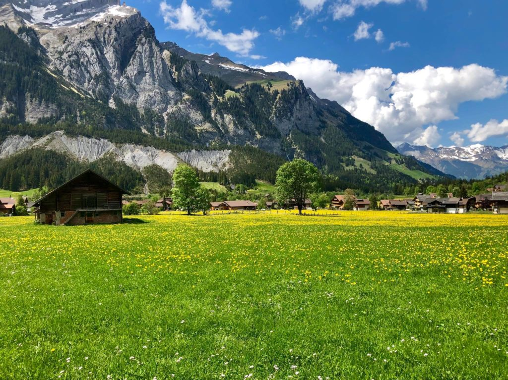 suisse switzerland itinerary