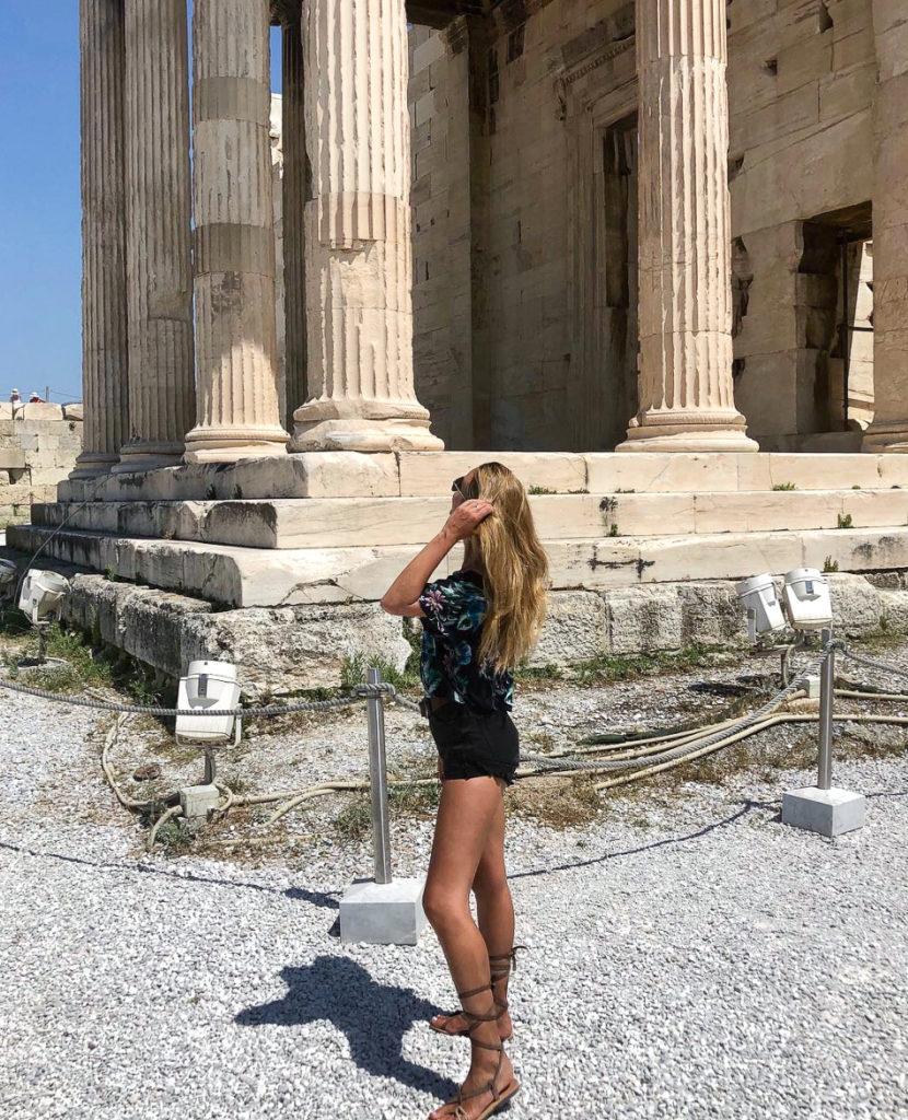athenes grece agora parthenon
