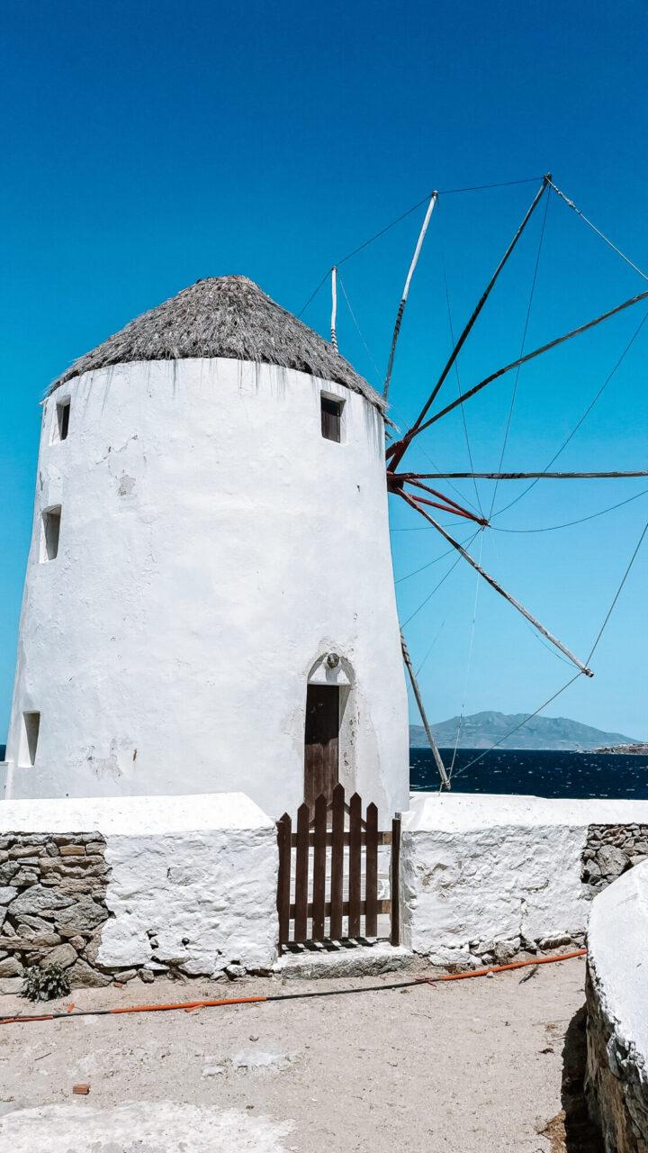 moulin à vent chora mykonos