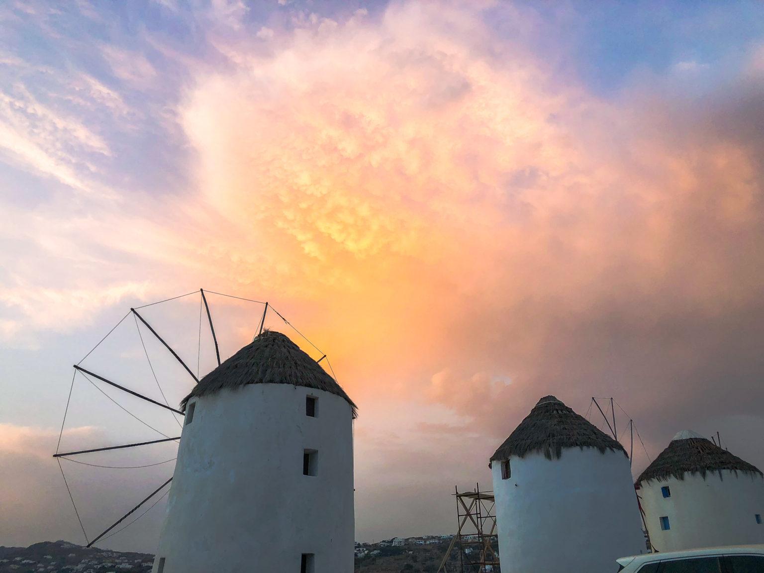moulins à vent mykonos