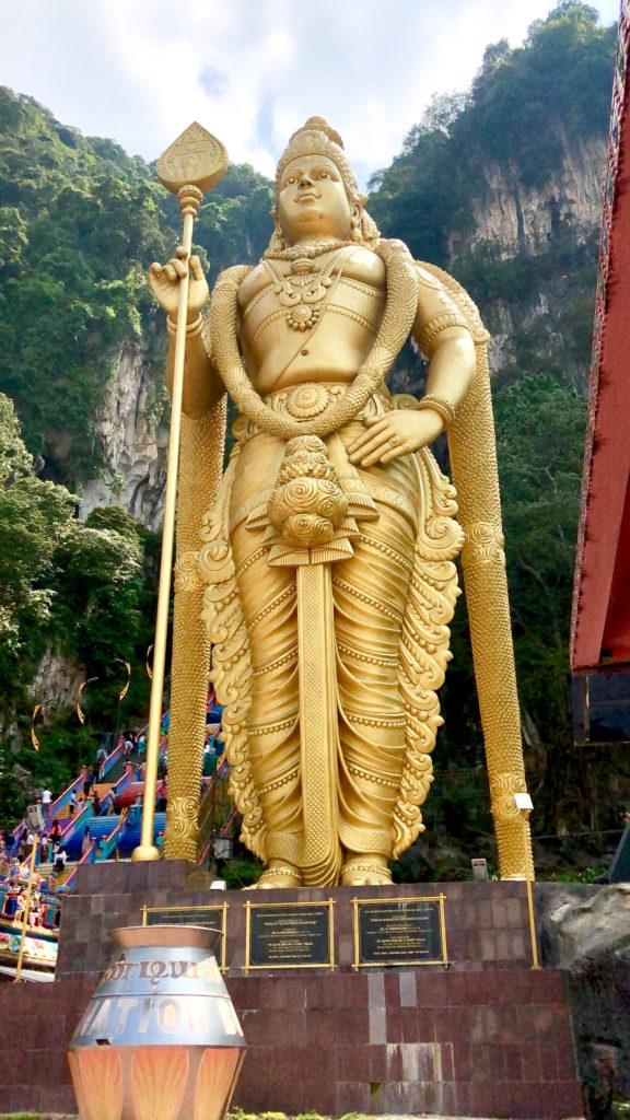statue bouddha batu cave