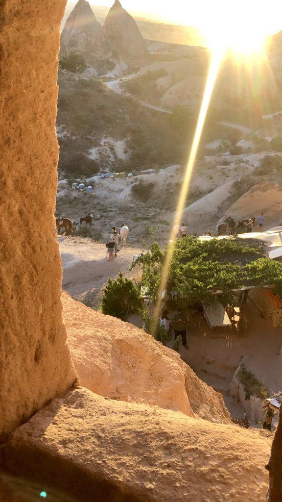 coucher de soleil cappadoce