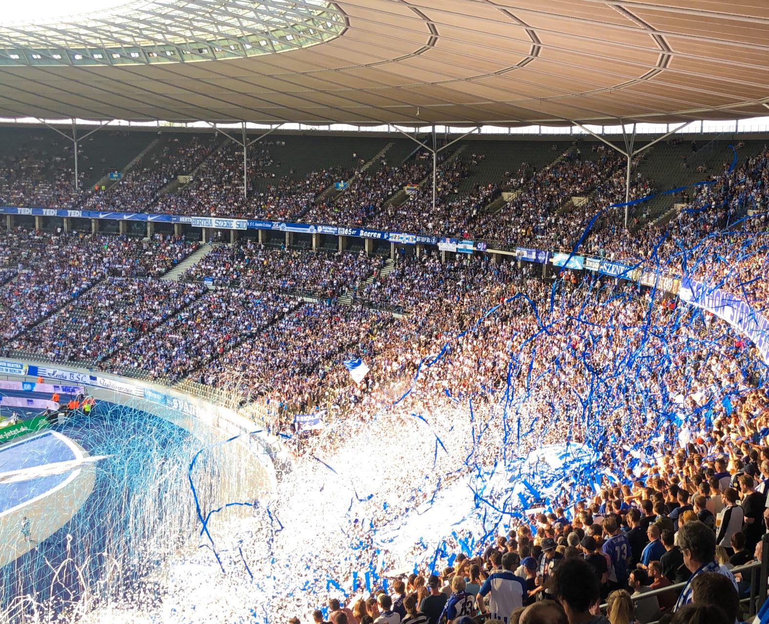 berlin allemagne stade football