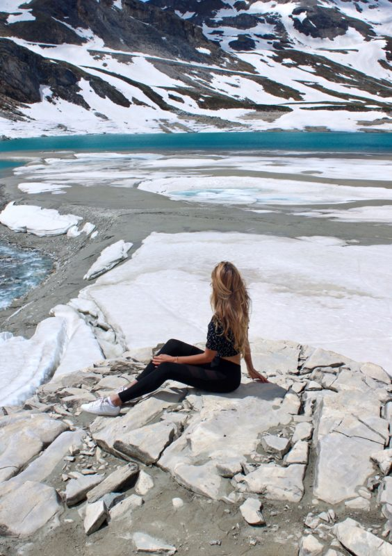 lac de la sassière tignes