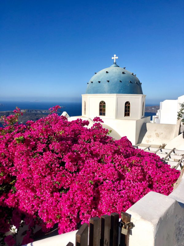 plus belles vues dome santorin imerovigli