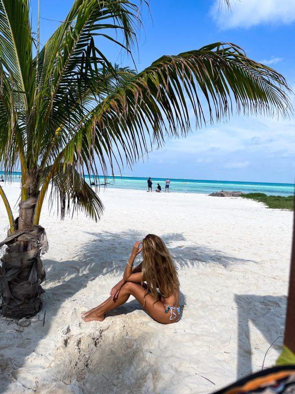 isla mujeres plage paradisiaque