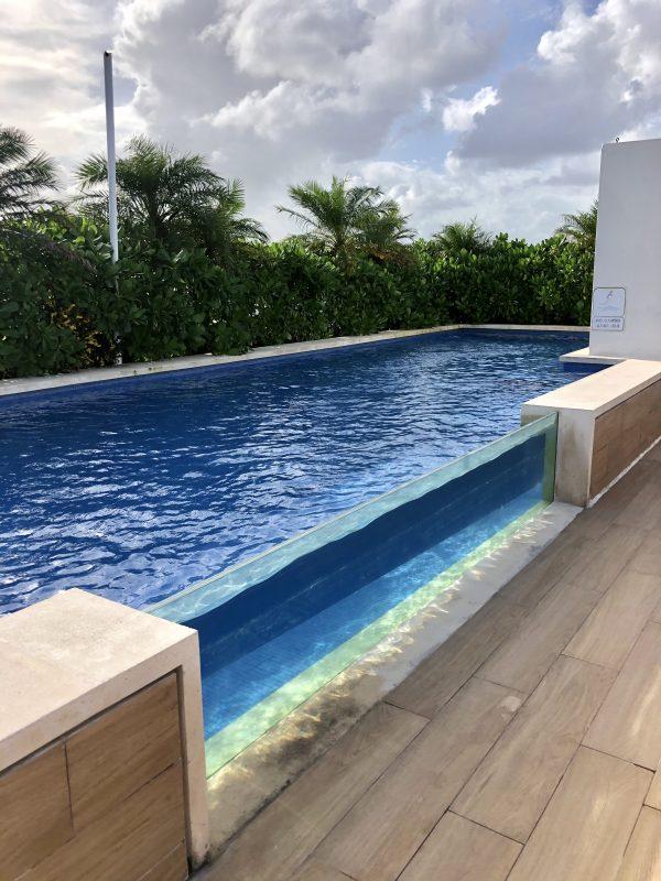 piscine opal apartments playa del carmen