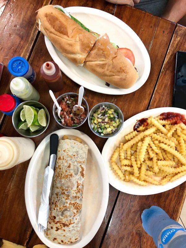 nourriture mexique playa del carmen