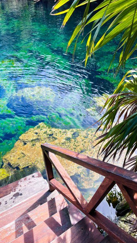 cenote del eden mexique