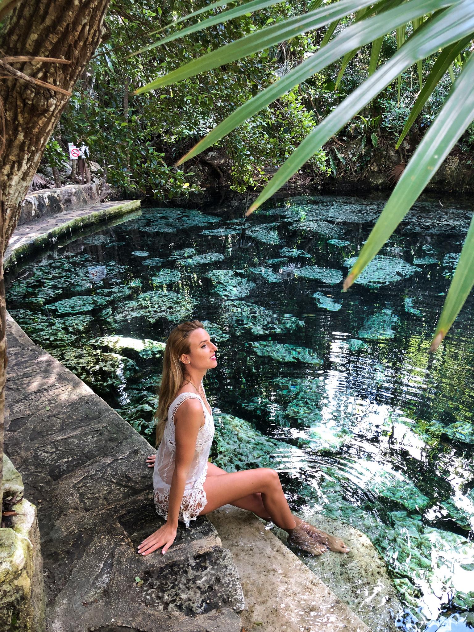 cenote quitana roo playa del carmen