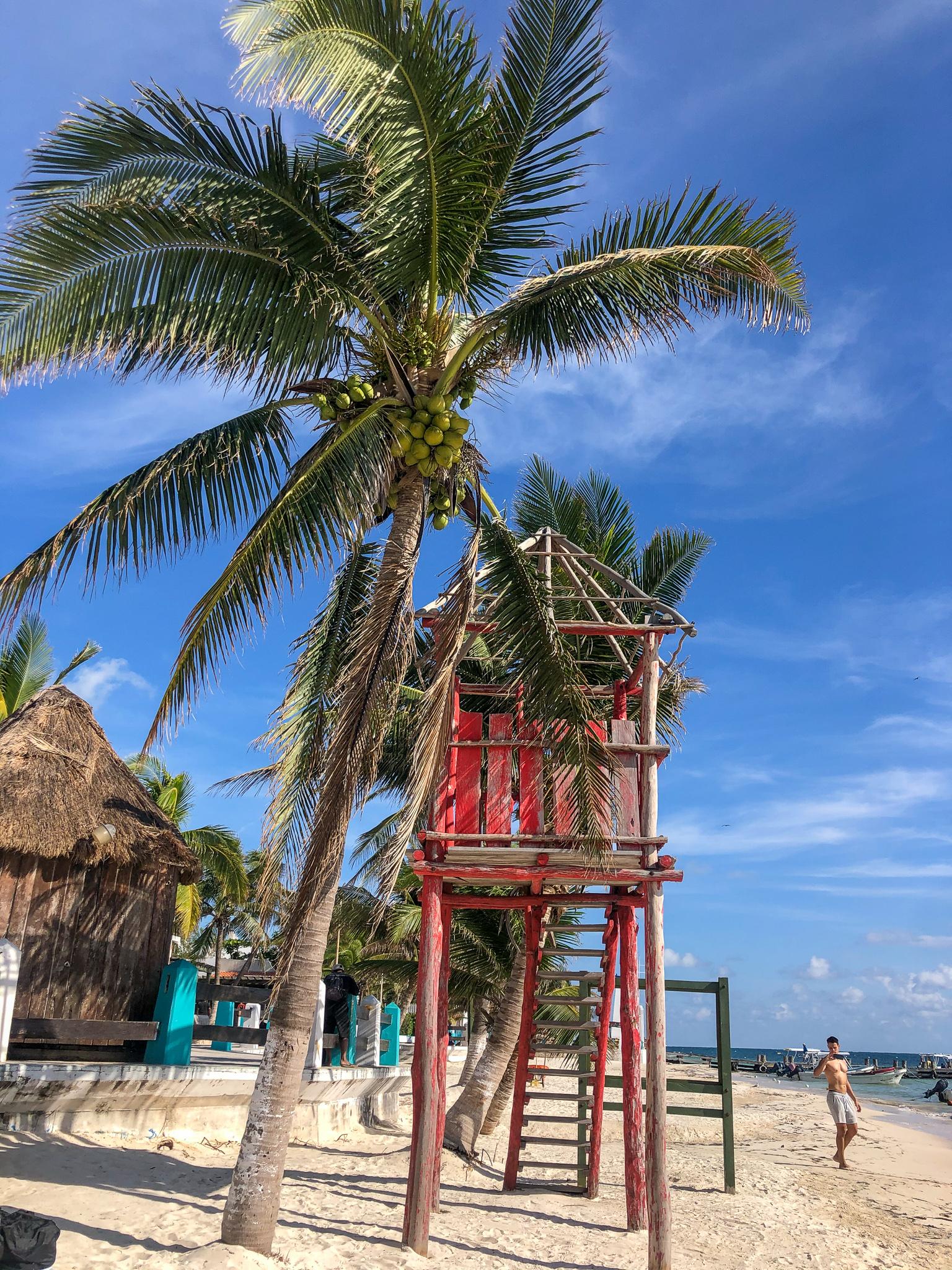 plage à puerto morelos