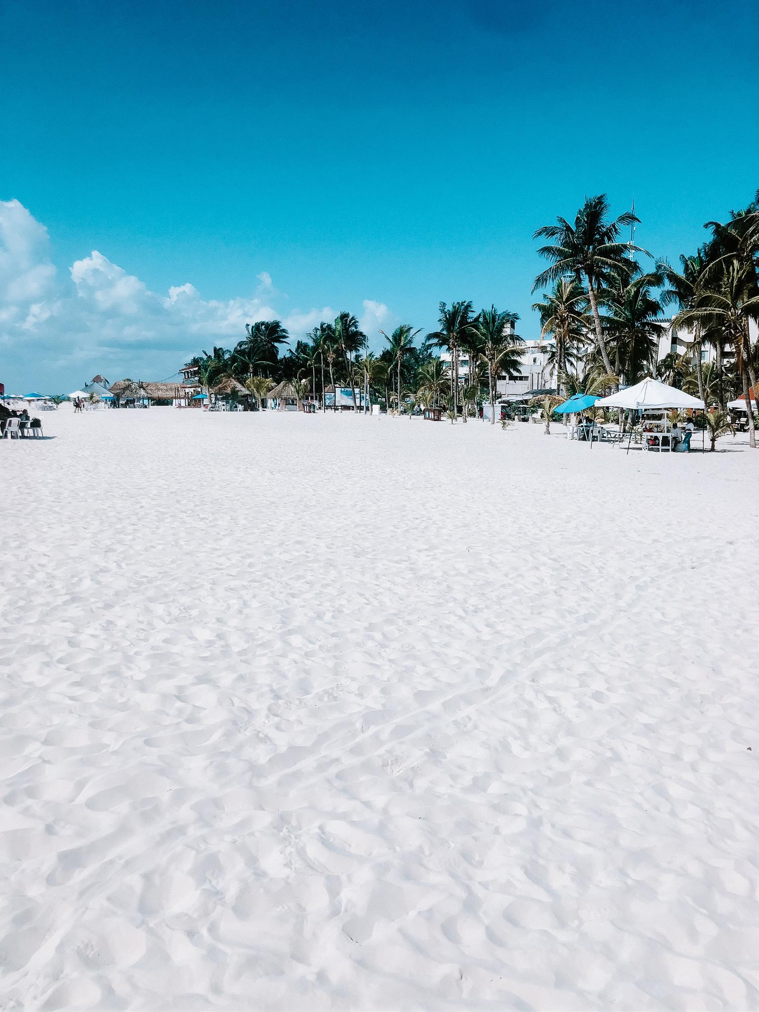 plage mexique paradis isla mujeres
