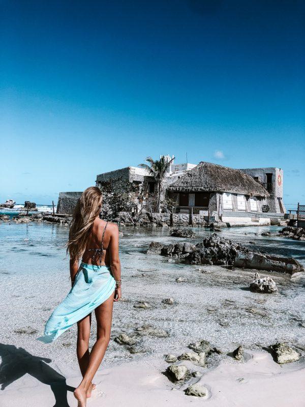 isla mujeres mexique plage