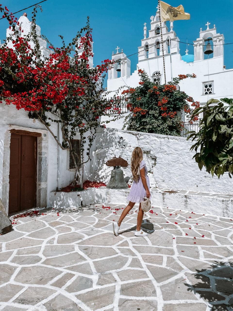 filoti naxos village