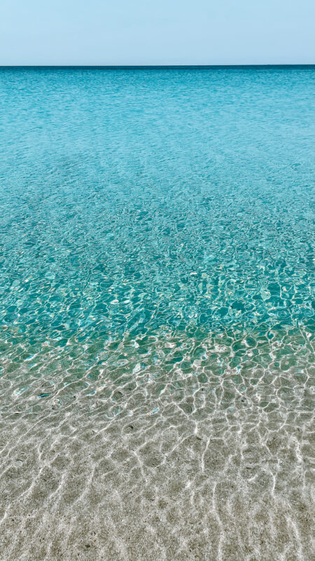 plage agios prokopios naxos