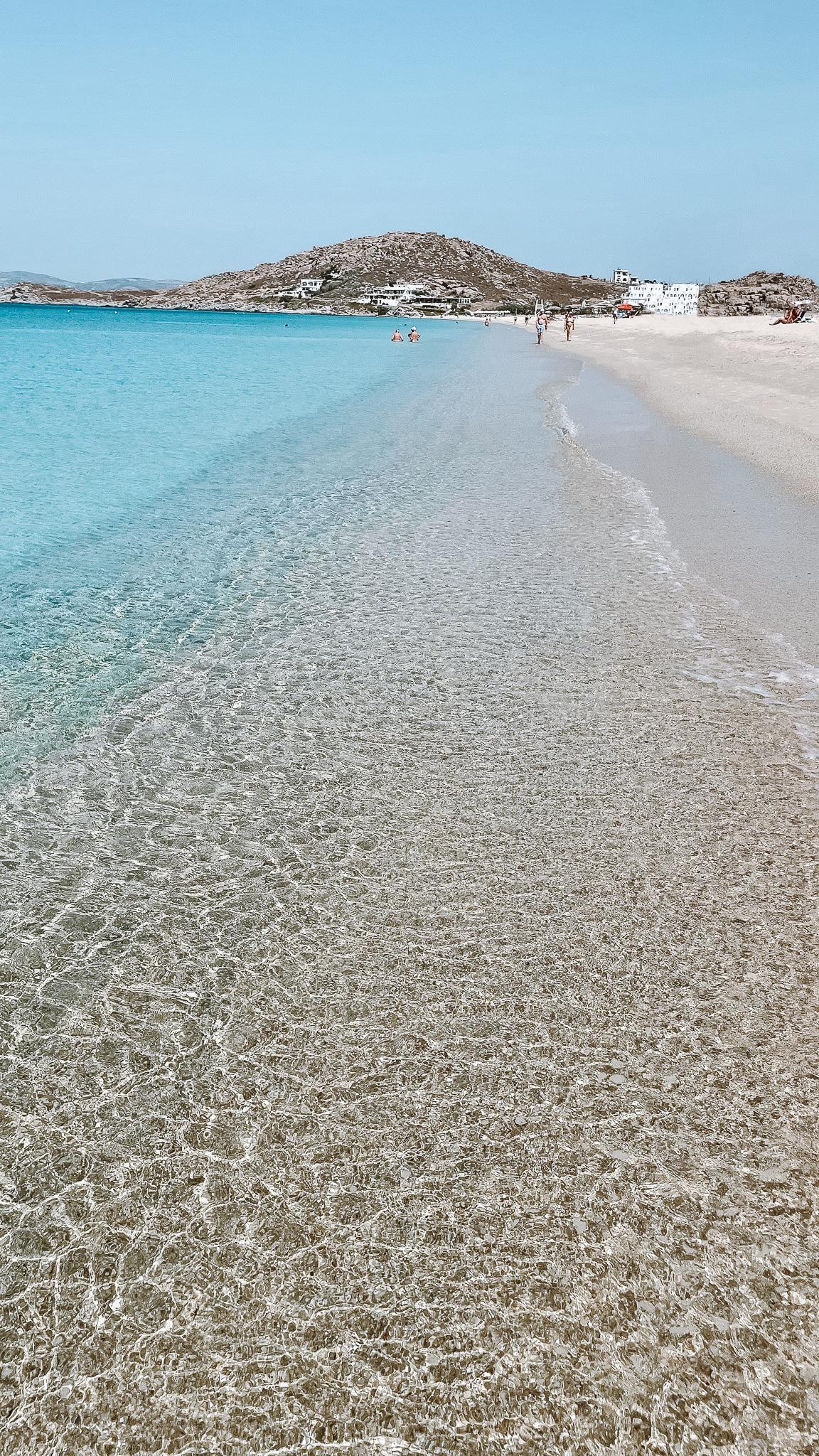 plage agios prokopios