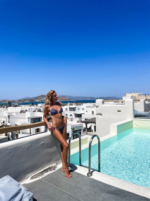 hotel naxos piscine